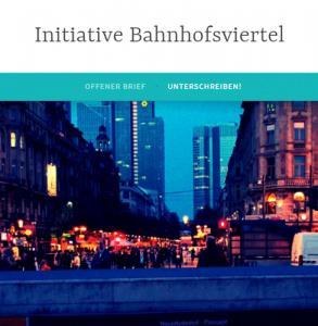 mybrainmychoice_Initiative Bahnhofsviertel